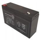 Akumulator 6V 12Ah żelowy POWERBAT AGM VRLA