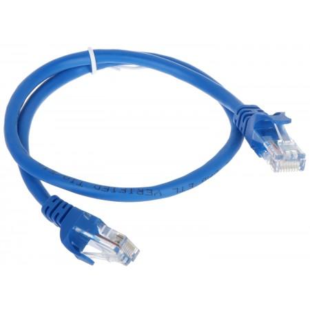 PATCHCORD RJ45/0.5-BLUE 0.5m