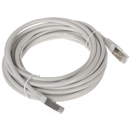 PATCHCORD RJ45/FTP6/5.0-GY 5 m