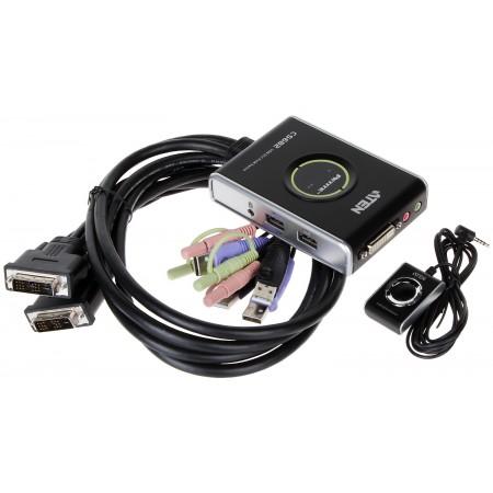 PRZEŁĄCZNIK DVI + USB CS-682