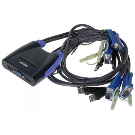 PRZEŁĄCZNIK VGA + USB CS-64US