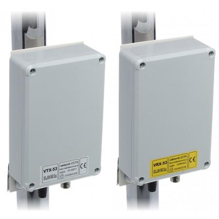 ZESTAW DO TRANSMISJI BEZPRZEWODOWEJ 5.8 GHz VID-7A KOMPLET TXRX