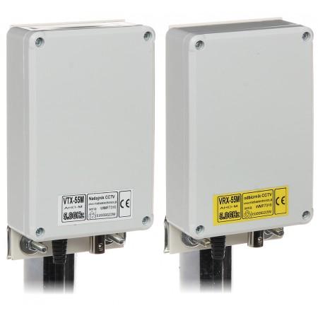 ZESTAW DO TRANSMISJI BEZPRZEWODOWEJ 5.8 GHz VID-7M/AHD KOMPLET TXRX