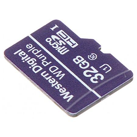 KARTA PAMIĘCI SD-MICRO-10/32-WD UHS-I, SDHC 32GB Western Digital