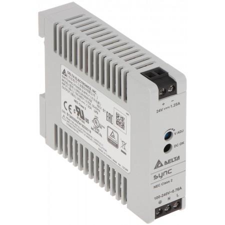 ZASILACZ IMPULSOWY DRS-24V30W-1NZ Delta Electronics
