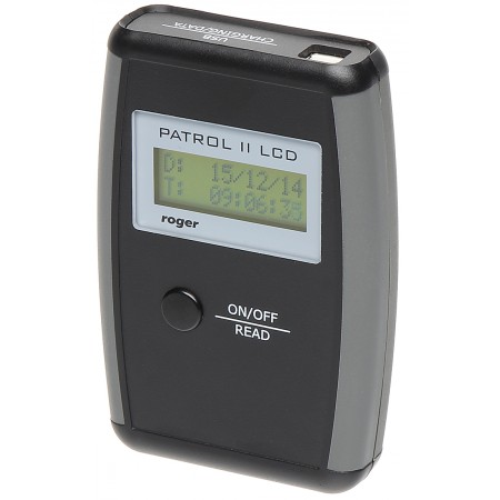 REJESTRATOR PRACY WARTOWNIKÓW PATROL-II-LCD