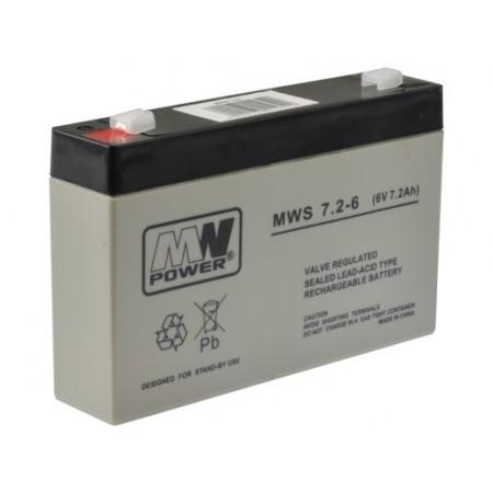 Akumulator żelowy AGM 6V 7Ah CSSB