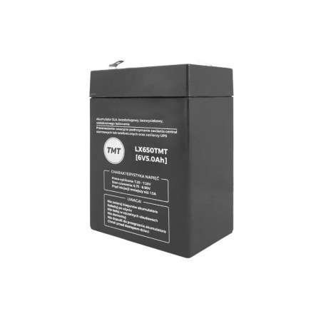 Akumulator 6V 5Ah TMT żelowy AGM VRLA
