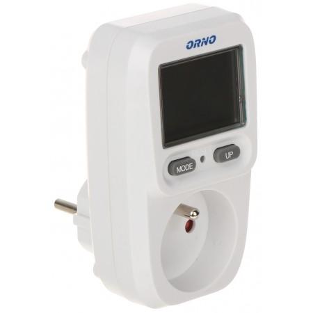 WATOMIERZ, KALKULATOR ENERGII Z WYŚWIETLACZEM LCD OR-WAT-419 ORNO