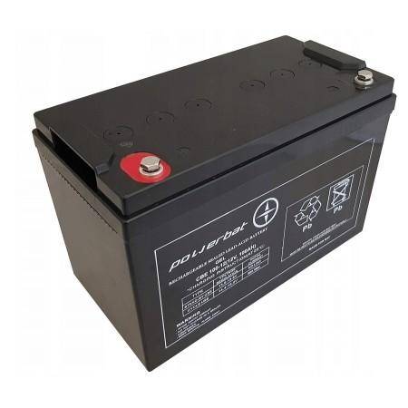 Akumulator żelowy GEL 12V 100Ah POWERBAT